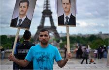 Manifestation en soutien à Bachar Al-Assad (le 3 juin 2012, à Paris)