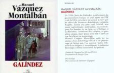 Livre – «Galíndez», de Manuel Vázquez-Montalbán