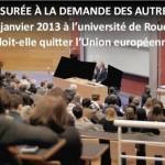 Censure d'un débat… Trois professeurs déshonorent l'Université de Rouen !
