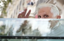 © OLIVIER LABAN-MATTEI / POOL / AFP Benoit XVI