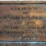 Rassemblement à la mémoire de Brahim Bouarram (1er mai 2013)