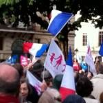 Reportage au rassemblement en soutien à Nicolas Bernard-Busse (23 juin 2013)