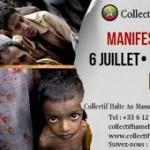 Manifestation «Halte Au Massacre En Birmanie» (6 juillet 2013)