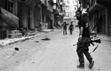 A Alep, en avril 2013 (©MUSTAFA ALI / SIPA)