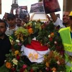 Manifestation du vendredi 16 août 2013 au Trocadéro, en réponse aux violences perpetrées par l'armée égyptienne
