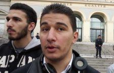 Manifestation de citoyen Stéphanois pour la liberté d'expression – reportage