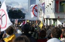 Guérilla urbaine ? Ambiance familiale ? Retour sur la manifestation anti-aéroport du 22 février à Nantes
