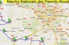 Marche nationale des parents abusés (du 7 juillet au 7 août 2014)