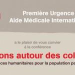 Conférence : « Tensions autour des colonies – Conséquences humanitaires pour la population palestinienne » (20 mars 2014)