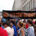 Manifestation pro-palestinienne à Bruxelles (19 juillet 2014)