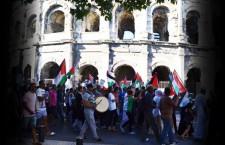 Manifestation pro-palestinienne à Nîmes (17 juillet 2014)