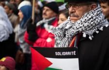 Rassemblement en soutien à la Palestine à Paris place de la République (31 août 2014)