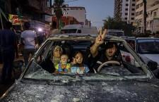 Gaza : israéliens et palestiniens signent un cessez-le-feu