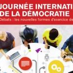 Journée Internationale de la Démocratie à Rouen (15 septembre 2014)