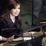 À l'ONU, la présidente de l'Argentine fustige les occidentaux et Israël pour leur responsabilité dans le chaos au proche et moyen orient (Afrique Asie)