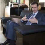 Le président syrien Bachar El-Assad reçoit Paris Match
