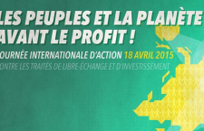 Journée d'action stop TAFTA et CETA – Samedi 18 avril