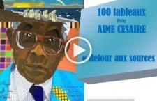 Reportage à l'exposition « 100 tableaux pour Aimé Césaire – retour aux sources »