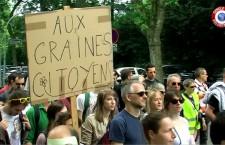 Manifestation contre Monsanto : Reportage à Strasbourg