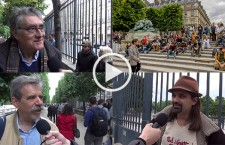 Reportage au rassemblement du 29M : Démocratie Directe, Constituante, Suffrage universel et Tirage au sort