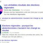 Elections régionales : «Le Monde» à la rescousse du système représentatif