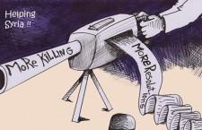 Le mensonge, la nausée et les sanctions, par Michel Raimbaud