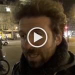 Cyril Dion à la Nuit Debout, avant la projection de son film «Demain»