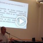 Conférence « Historique des processus Constituants », par Alain Dontaine