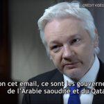 Julian Assange accuse les gouvernements saoudien et qatari d'avoir financé Daesh