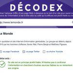 Décodex: quand Le Monde s'estime lui-même être un média «plutôt fiable»