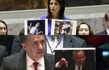 Les ambassadeurs américains et boliviens à l'ONU