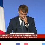 Discours de Macron devant les Ambassadeurs : interview de Michel Raimbaud