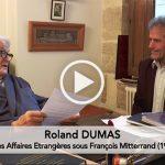 Syrie : vers une conférence internationale pour la paix ? Entretien avec Roland Dumas