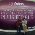 Campagne de Gleeden.com : Au nom du vice et du Saint Esprit.