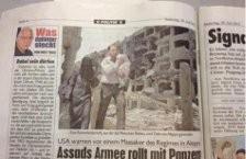 Syrie : panique chez les Gentils…