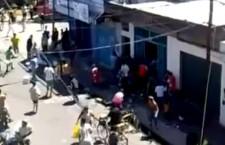 Pillage et vandalisme en Argentine