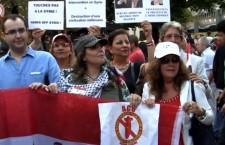 Manifestation contre le projet d'intervention militaire en Syrie