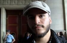 Zéon après l'audience du procès intenté par la LICRA et le BNVCA le vendredi 20 septembre