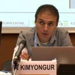 Bahar Kimyongür au HCR : «Tous ceux qui sont pour la paix en Syrie sont taxés de complotistes »