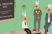Veolia, Areva et Auchan remportent le Prix Pinocchio 2013 (Bastamag)