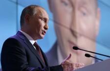 Vladimir Poutine : « La plupart des pays Euro-Atlantistes sont en train de renier leurs principes moraux »