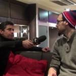 Canal+ interview Raphaël Berland, du Cercle des Volontaires, pour en faire un montage orienté