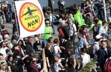 Manifestation anti-aéroport à Nantes (22 février 2014)