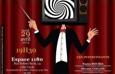 Conférence-débat «De l'information à la désinformation dans la presse audiovisuelle francophone belge» (mardi 29 avril 2014)