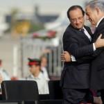 François Hollande soutient Benjamin Netanyahou dans sa politique de répression meurtière