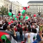 Manifestation de soutien au peuple palestinien à Saint-Etienne (19 juillet 2014)