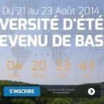 Première Université d'Été du Revenu de Base à Périgueux (du 21 au 23 août 2014)