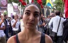 Manifestation de soutien aux kurdes d'Irak