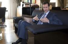Le président syrien Bachar El-Assad reçoit Paris Match (Paris Match)