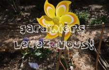 Nouvelle websérie : « Jardiniers Levez-Vous ! » (10 avril 2015)